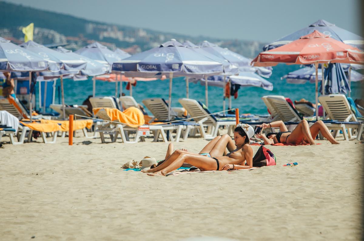 Секс на болгарских пляжах