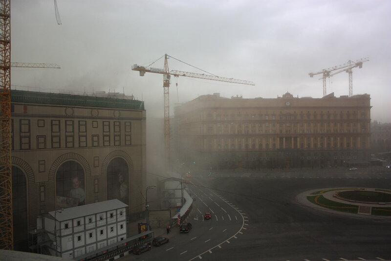 Пыльная буря на Лубянке.