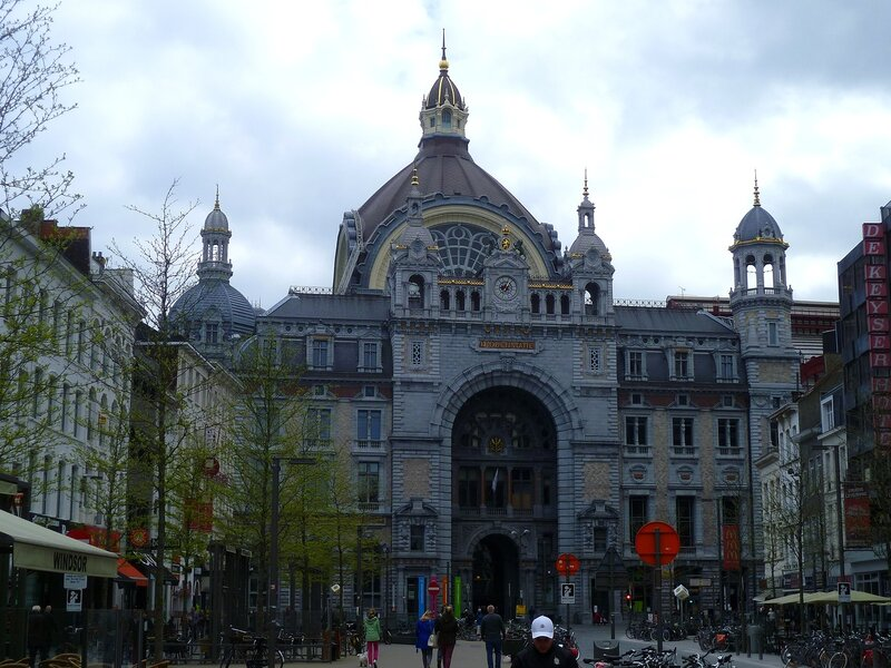 Бельгия, вокзал Антверпена (Belgium, Antwerp Station)