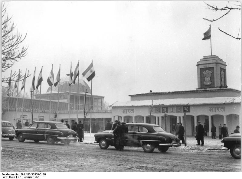 Leipzig, Frьhjahrsmesse, indischer Pavillon