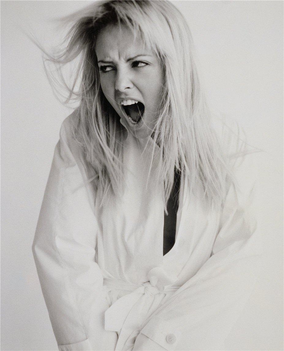 модель Шарлиз Терон / Charlise Theron, фотограф Peggy Sirota