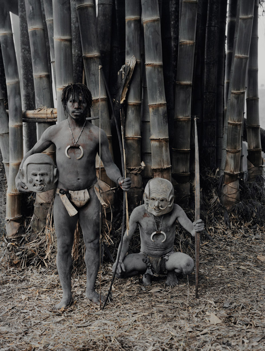 Before they Pass Away / Indonesia + Papua New Guinea / Asaro / photo by Jimmy Nelson