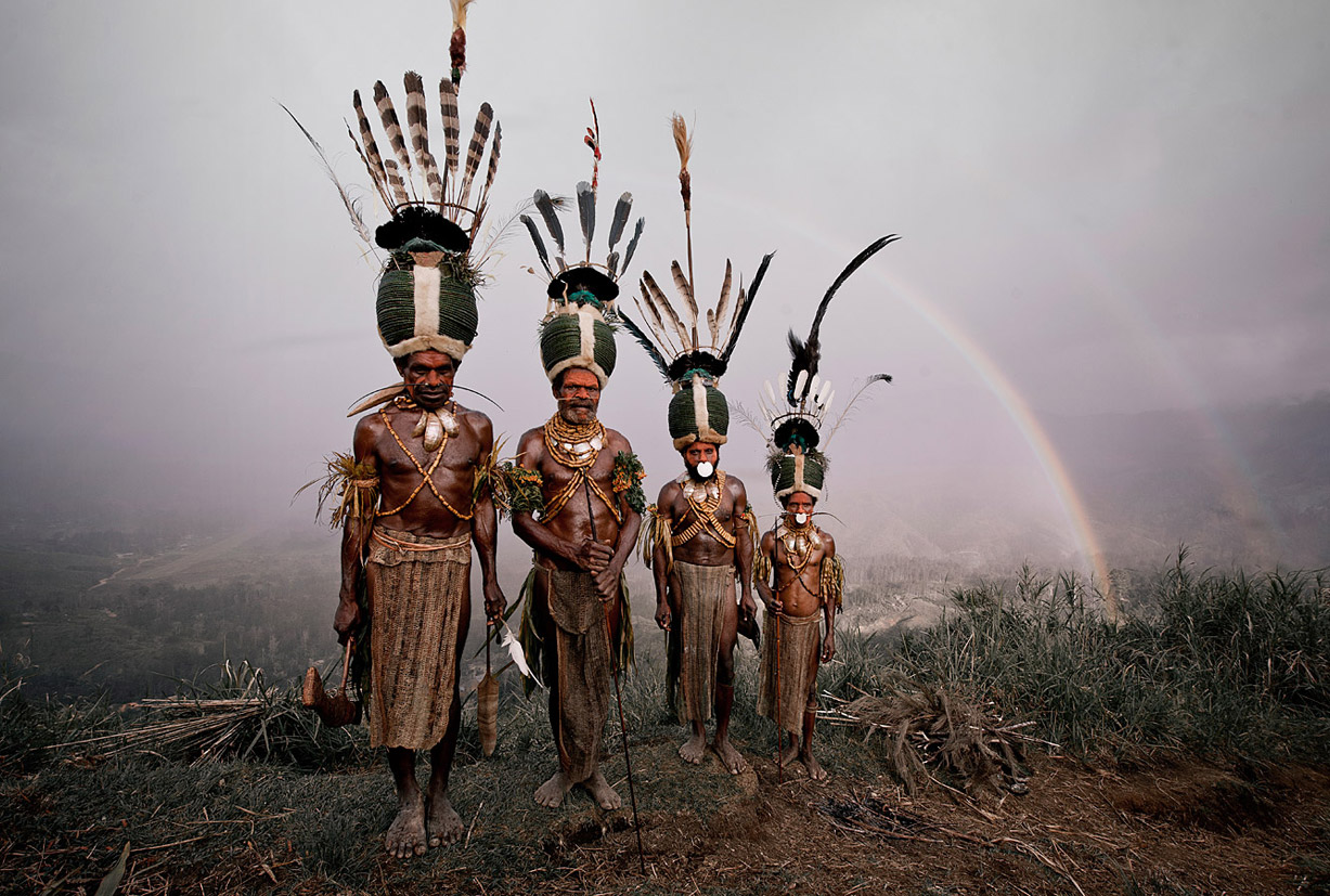 Before they Pass Away / Indonesia + Papua New Guinea / Kalam / photo by Jimmy Nelson