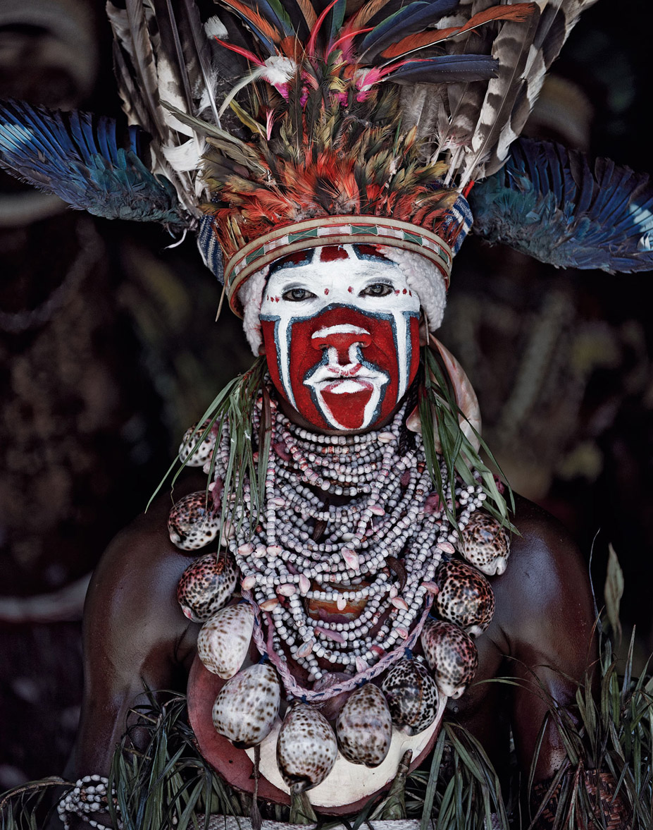 Before they Pass Away / Indonesia + Papua New Guinea / Goroka / photo by Jimmy Nelson