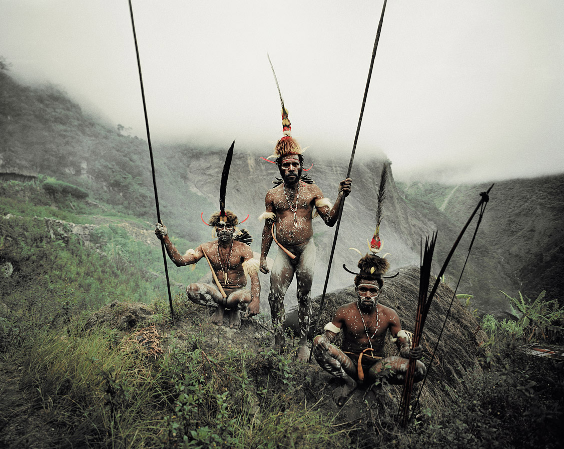 Before they Pass Away / Indonesia + Papua New Guinea / Dani / photo by Jimmy Nelson