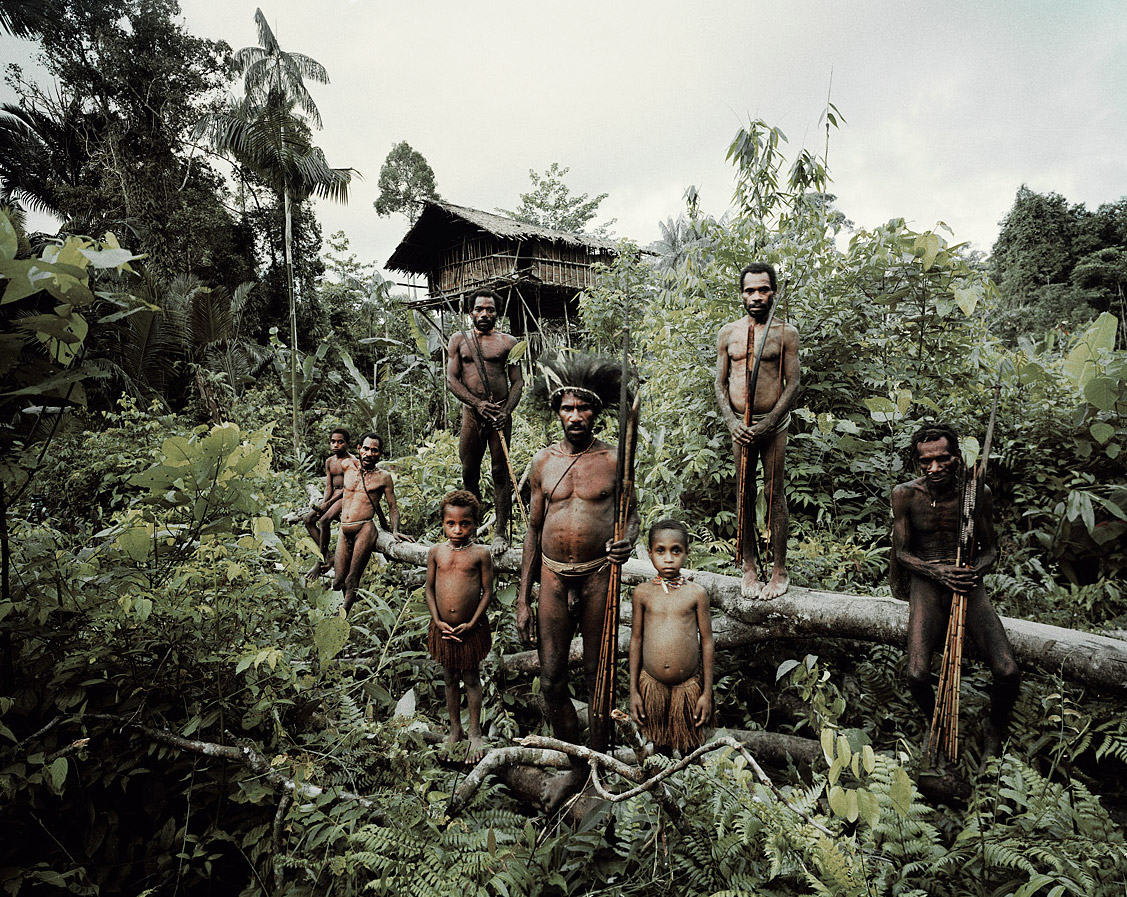 Before they Pass Away / Indonesia + Papua New Guinea / Korowai / photo by Jimmy Nelson