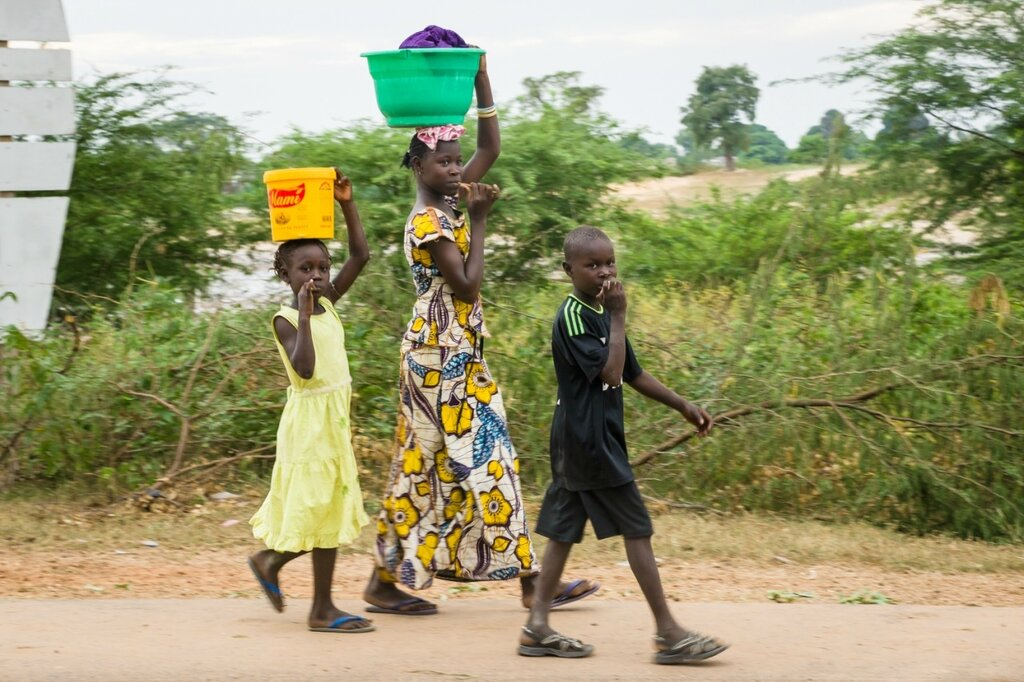 Дети Сенегала