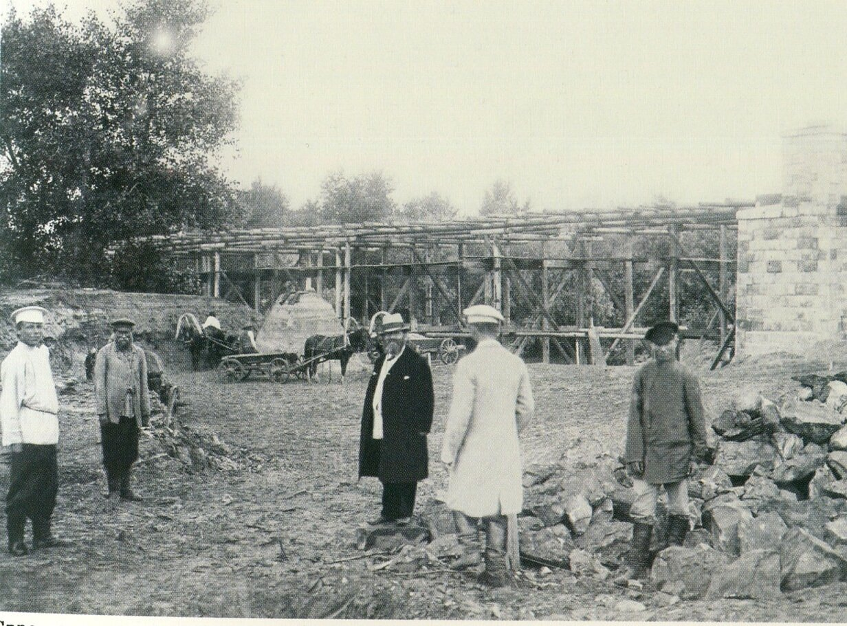 Строительство железнодорожного моста