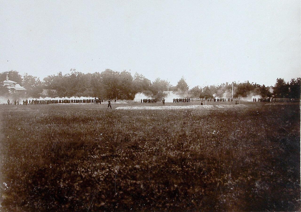 30. Рота корпуса во время учений в летнем лагере