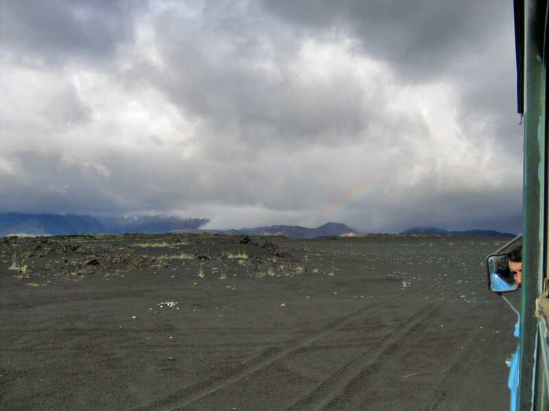 Дорога на Базу луноходчиков, Толбачик, Камчатка