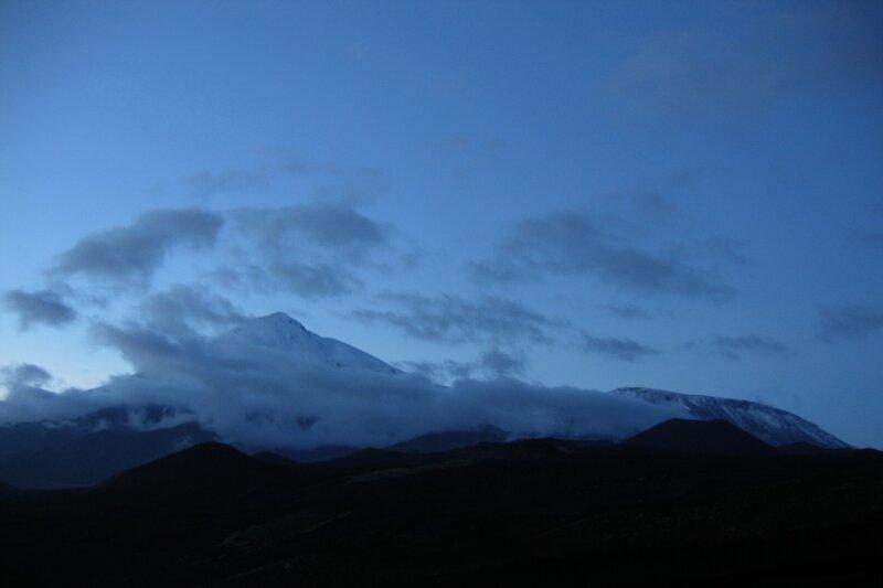 Вулканы Острый Толбачик и Плоский Толбачик, Камчатка
