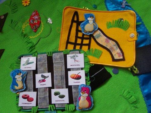 Дополнительные коврики к большому развивающему коврику Волшебная Страна ПИНГО-БИНГО