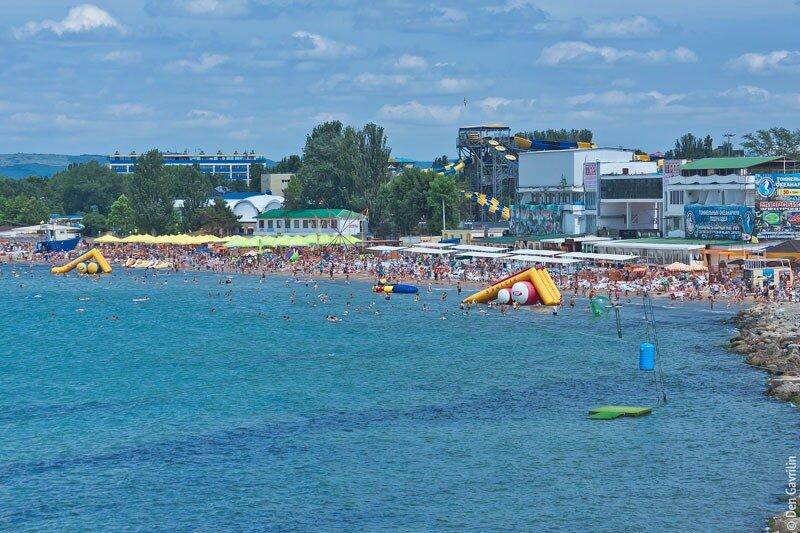 Анапа лечебный пляж