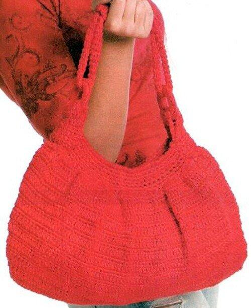 Сумка тучный мешок крючком схема фото 277