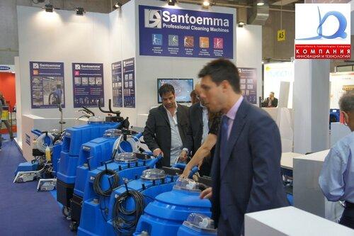 Ковровые экстракторы SANTOEMMA на выставке PULIRE 2011