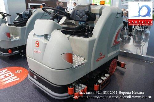Поломоечная машина с сиденьем оператора COMAC