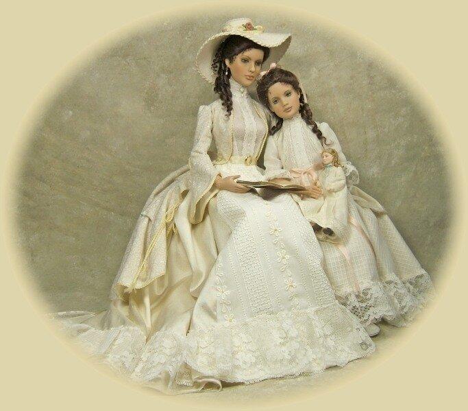 Автор куклы Шерил Кроуфорд