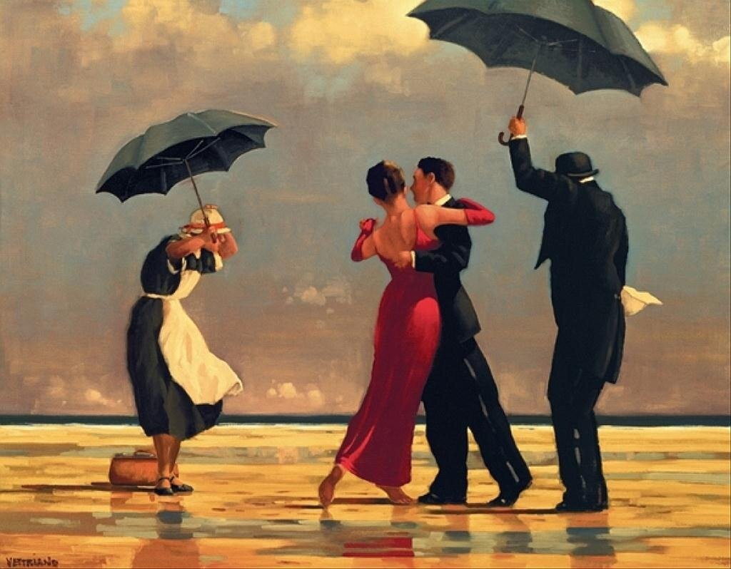 The Singing Butler 1992  by Jack Vettriano