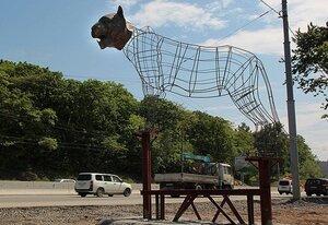 Встречать жителей и гостей Владивостока при въезде в город будет тигр