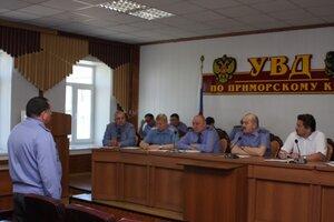 В Управлении МВД России по Приморскому краю начала работу аттестационная комиссия