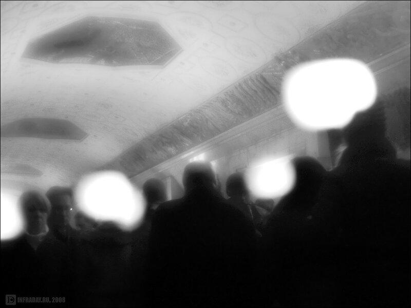 Люди-призраки метро и прочее