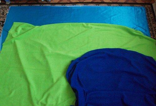 Развивающий коврик своими руками... кроим основу коврика