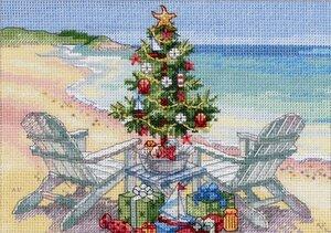 Рождество на пляже от Дименшенс.jpg