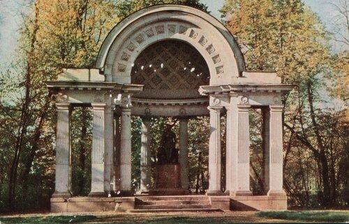 Павловск. 1965. Павильон Росси