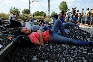 Движение поездов под Ла-Маншем прервано из-за мигрантов