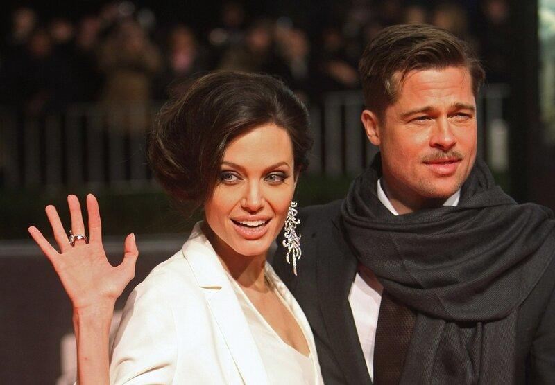 Анджелина Джоли (Angelina Jolie) и Брэд Питт