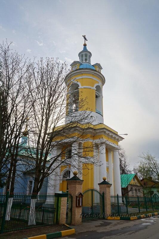Церковь Покрова Пресвятой Богородицы. Усадьба Петровское-Княжищего Демидовых-Мещерских