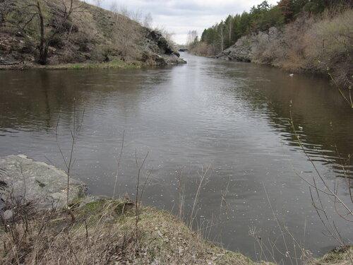 Изгиб реки Миасс