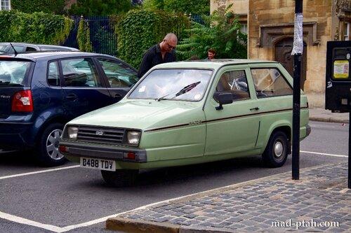 трехколесный автомобиль, англия, оксфорд