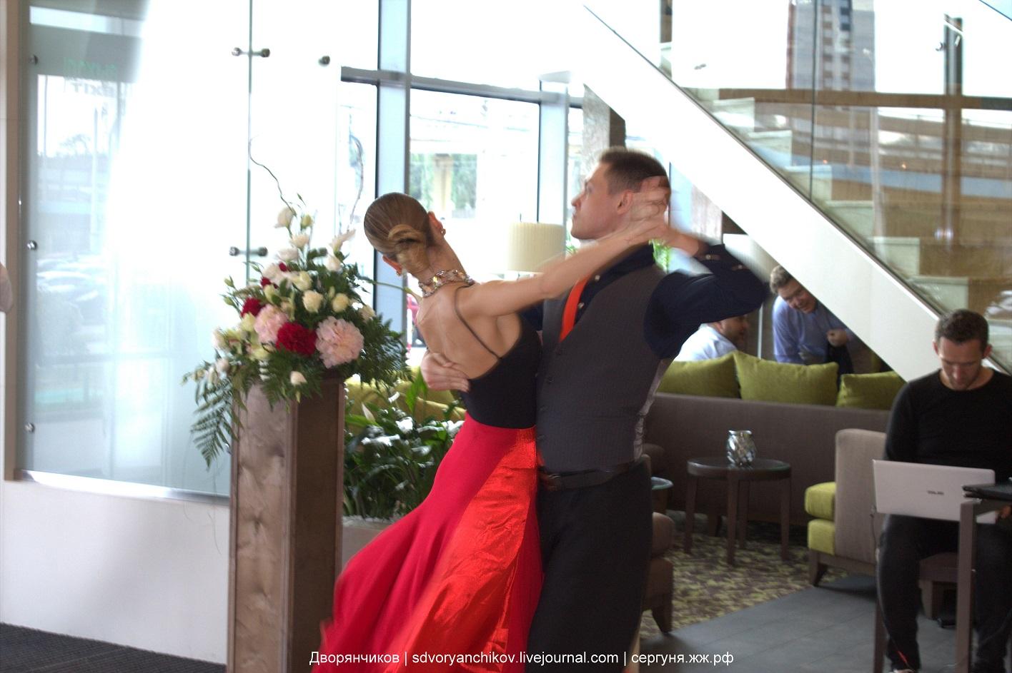 Немного фото с открытия Hilton Garden Inn в Волгограде