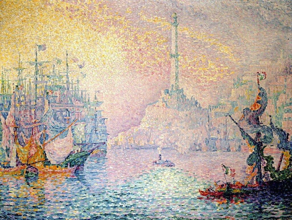 The Port of Genoa, 1909.jpg