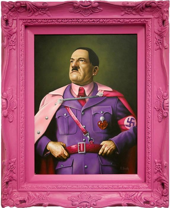 Мур мур, гламурные картины портреты политиков Скотта Шейдли
