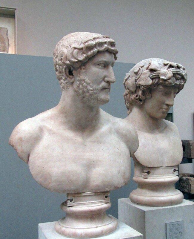 Адриан и Антиной