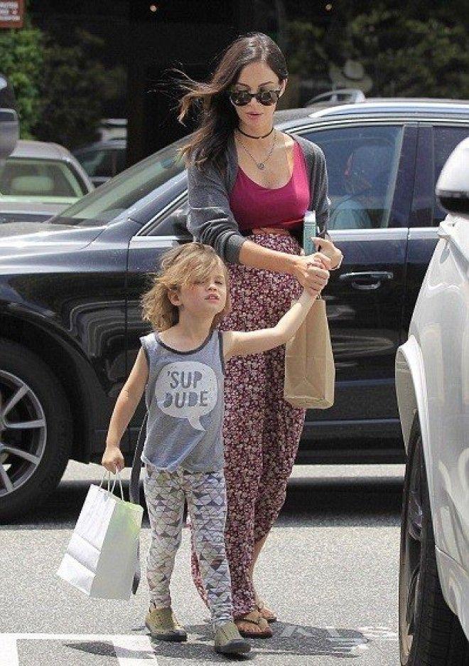 Адель и ее сынишка Анджело