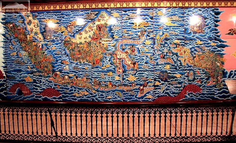 Карта Индонезии