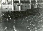 Заседание депутатов Второй Государственной Думы в Таврическом дворце.