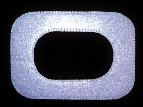 Фоторамка на магнитах из фетра своими руками