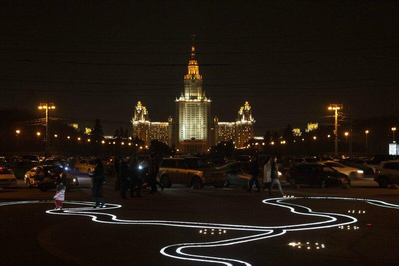 Главное здание МГУ на Воробьевых горах, Москва
