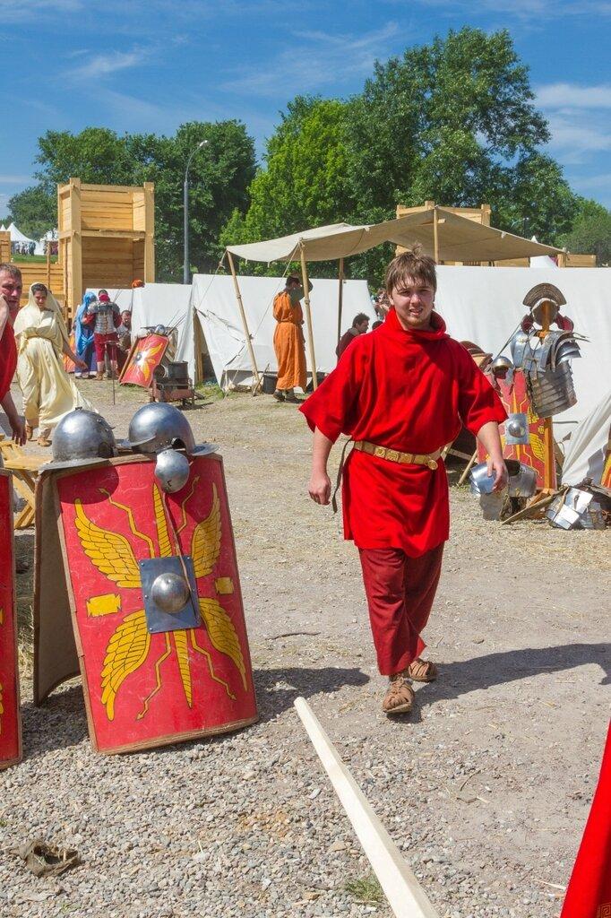 Римский лагерь, Времена и эпохи-2015, Коломенское