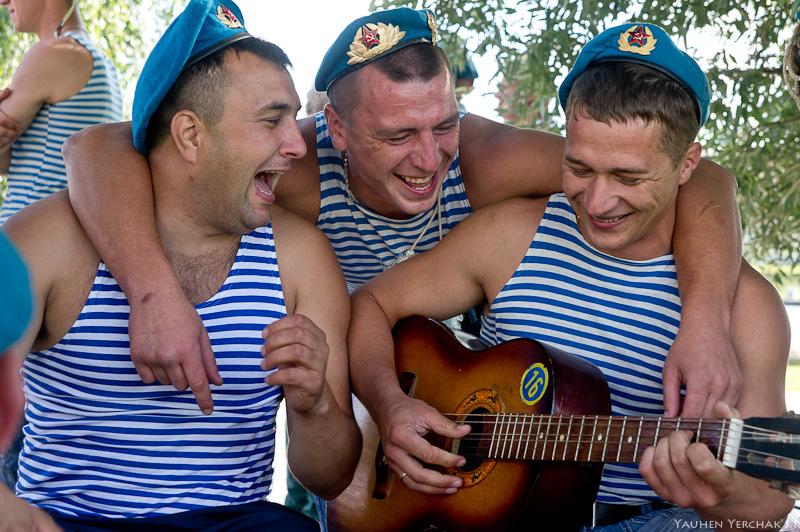 День ВДВ, десантники, Минск, фото