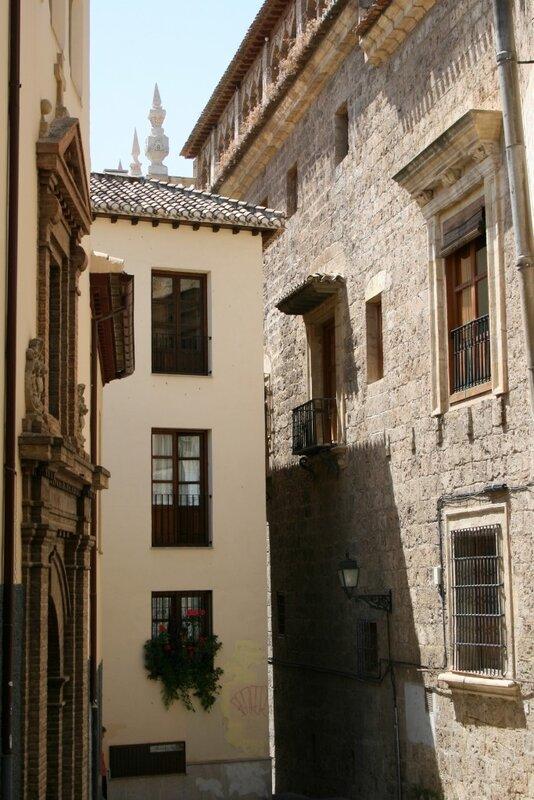 Гранада, улицы Альбайсина