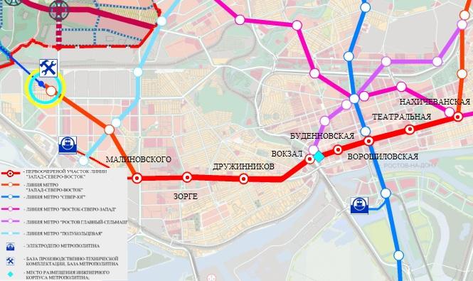 Вот тут и напрашивается вывод: если метро нужно Ростову для проведения ЧМ-2018, то первым делом нужно строить ветку.