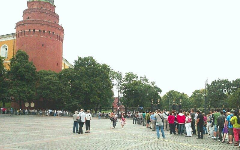 К Ленину. 9 августа 2001 года