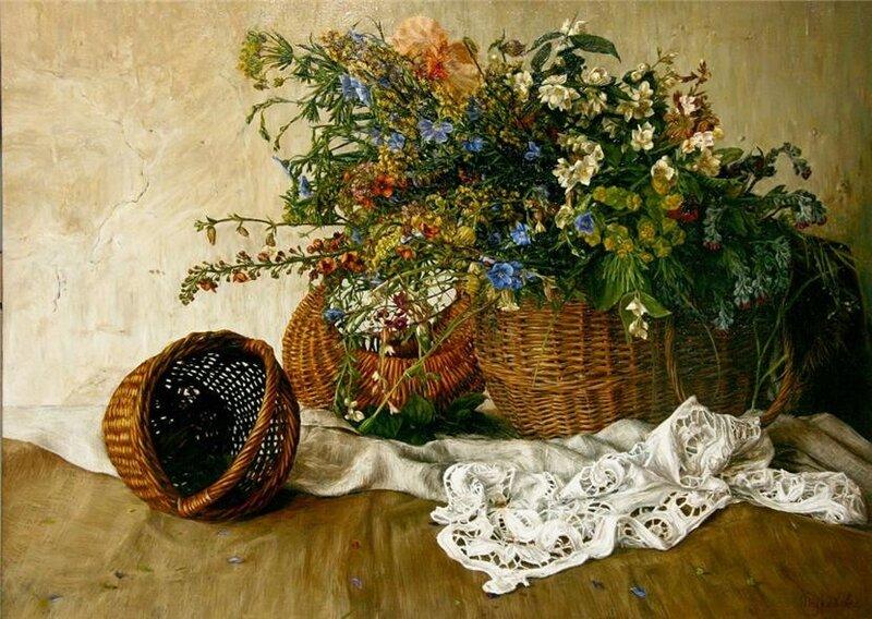 Булекова Мария.  Летние цветы