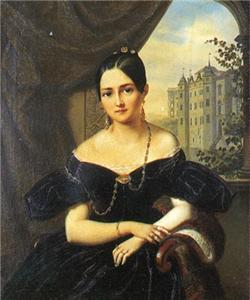 А. Реми. Александра Осиповна Смирнова-Россет 1835, Берлин,