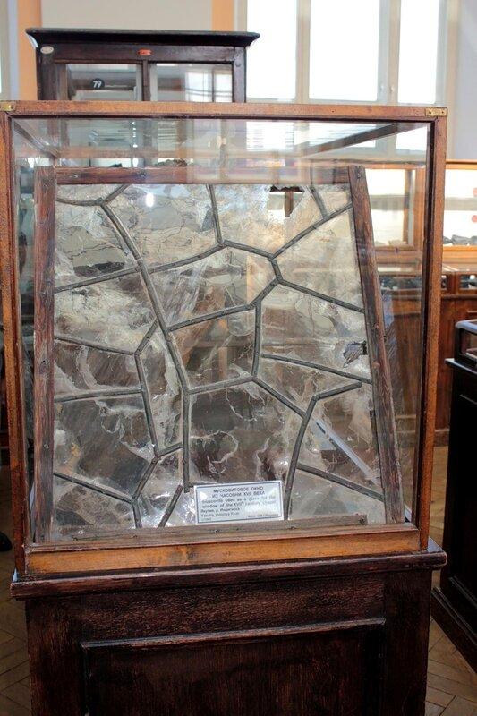 Мусковитовое окно из часовни XVII века